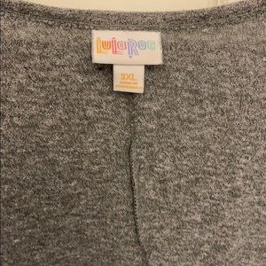 Lularoe Carly in Heather Gray Size 3XL